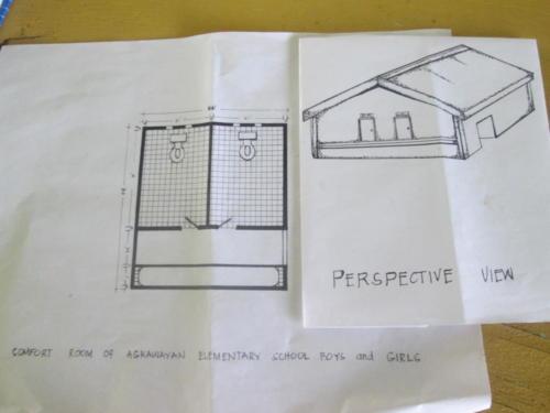 plattegrond voorstel wc gebouw